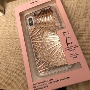 💄 Kate Spade glitter phone case iPhone